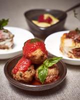 daisy eugene wedding mini meatballs