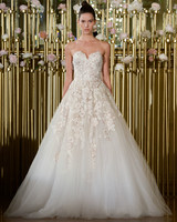 Francesca Miranda Strapless A-Line Wedding Dress Spring 2018