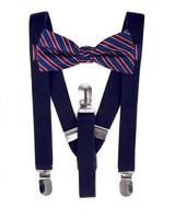 Suspenders and Bow Tie Set