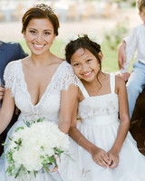 jannicke paal france wedding bride and daughter