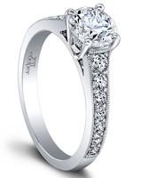 Jeff Cooper Designs Honey vintage engagement ring