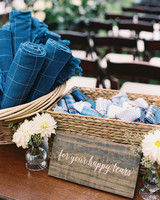 kendall nick wedding blankets hankies