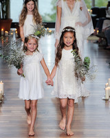 laure de sagazon fall 2018 short flower girl dresses