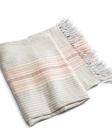 Linen Wedding Anniversary Gifts, Throw Blanket