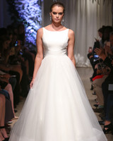matthew christopher 2018 boat neck wedding dress