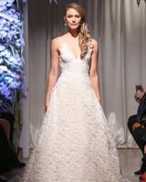 matthew christopher 2018 lace v-neck wedding dress
