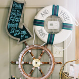 Anchor and Safety Throw Ring Accents