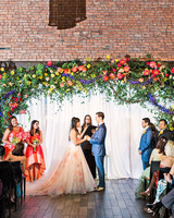 risa ross wedding brooklyn new york ceremony