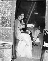 taylor cameron wedding sendoff couple