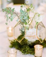 mossy terrarium wedding ideas