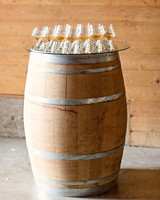 drinks on barrel
