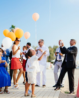 kids wedding balloons