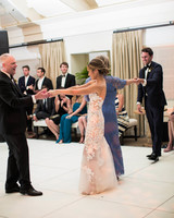 caitlin michael wedding parent dances