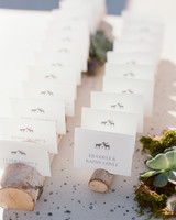 kalen boyd wedding escort cards