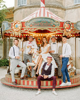 lara kjell circus party guys carousel