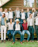 margaux patrick welcome dinner groomsmen