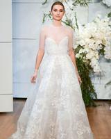 Monique Lhuillier Lilac Wedding Dress