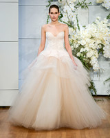 monique lhuillier sweet heart tulle ballgown wedding dress spring 2018