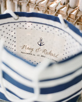 Beach Bag Wedding Favor