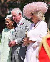 Prince Charles and Camilla Parker Bowles royal wedding 2018