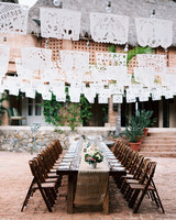 Mexico-Inspired Long Reception Table