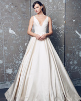 Legends Romona Keveza V-Neck A-Line Wedding Dress Fall 2018