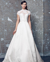 Legends Romona Keveza Short Sleeve Wedding Dress Fall 2018