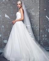 Legends Romona Keveza Halter with Veil Wedding Dress Fall 2018
