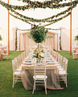 summer wedding details alison events table