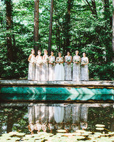 summer wedding details jove meyer events bride bridesmaids