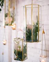 hanging terrarium wedding ideas