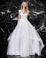 victoria kyriakides a-line v-neck wedding dress spring 2018