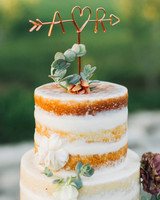 wedding cake toppers feather and twine photography