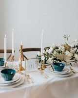 winter wedding centerpieces rachel liz photography