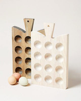 wood anniversary gift egg board