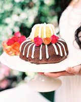 Mini Wedding Bundt Cakes