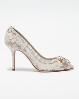 wedding shoes crystal lace