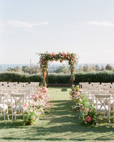 kathryn ian wedding ceremony structure