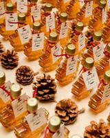 lauren christian christmas wedding favors syrup