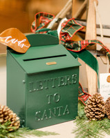 lauren christian christmas wedding mailbox letters cards santa