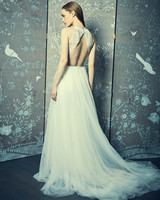 sheath high neck romona keveza legends wedding dress spring2018