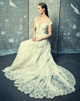 cap sleeves lace romona keveza legends wedding dress spring2018