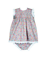summer flower girl dress toddler printed two piece