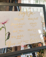 suzanne joseph wedding signage program corbin gurkin