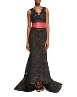 Black Elegant Mother of the Bride Dress