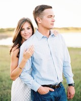 Posed Engagement Photo
