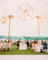 giordana and geoffrey reception tent