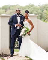kenisha wendall wedding bride groom portrait outdoor
