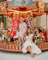 lara kjell circus party family carousel