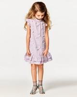 Janie & Jack Purple Floral Flower Girl Dress